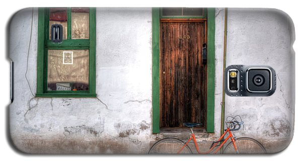 Galaxy S5 Case featuring the photograph Door 345 by Lynn Geoffroy