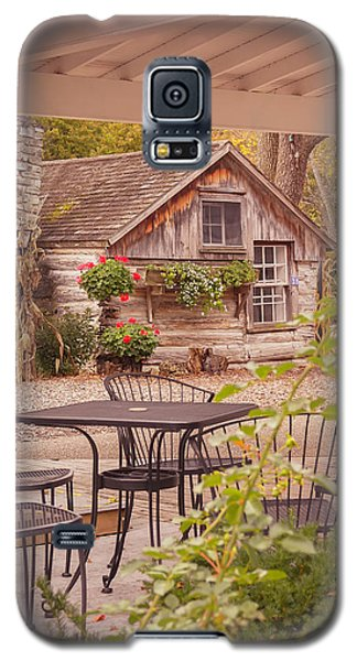 Galaxy S5 Case featuring the photograph Door County Thorp Cottage by Heidi Hermes