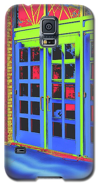 Galaxy S5 Case featuring the digital art Doorplay by Wendy J St Christopher