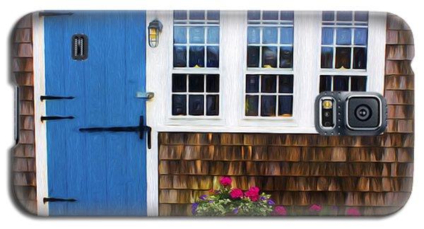 Blue Door - Doors And Windows Series 01 Galaxy S5 Case