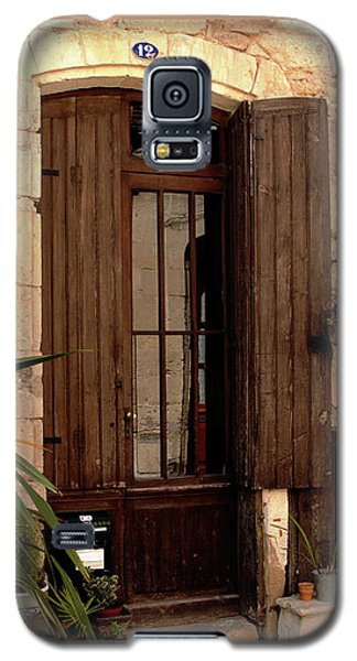 Doorway At Number 12 Galaxy S5 Case by Victoria Harrington