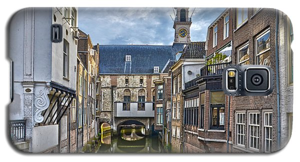Galaxy S5 Case featuring the photograph Dordrecht Town Hall by Frans Blok