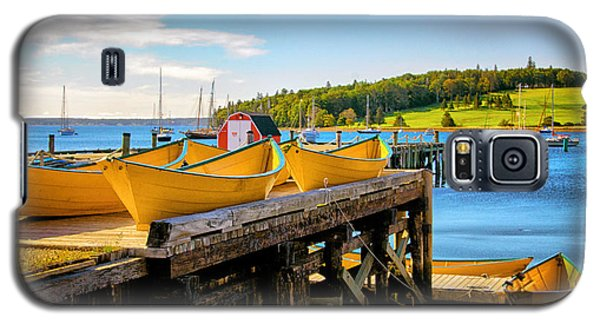 Dories On The Dock Galaxy S5 Case
