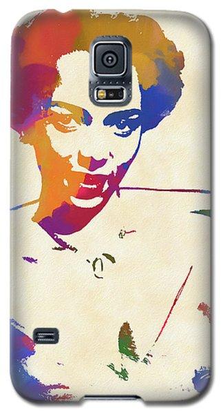 Apollo Theater Galaxy S5 Case - Dorothy Dandridge Watercolor by Dan Sproul