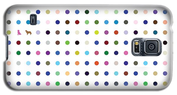 Dots And Dogs Galaxy S5 Case