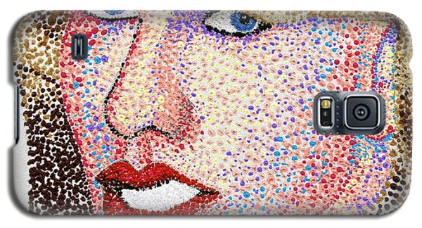 Dotted Galaxy S5 Case by Andrew Fisher