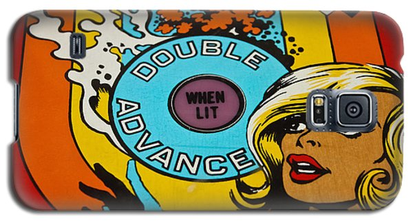 Double Advance - Pinball Galaxy S5 Case by Colleen Kammerer