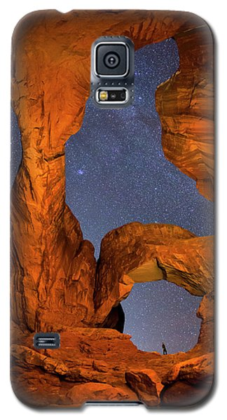 Double Arch At Night Galaxy S5 Case