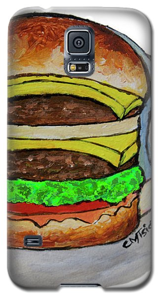 Double Cheeseburger Galaxy S5 Case