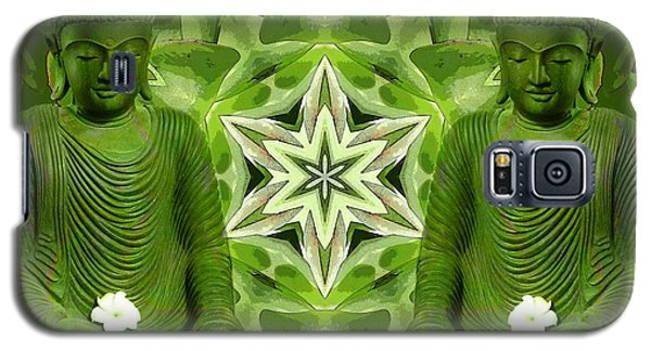 Double Green Buddhas Galaxy S5 Case