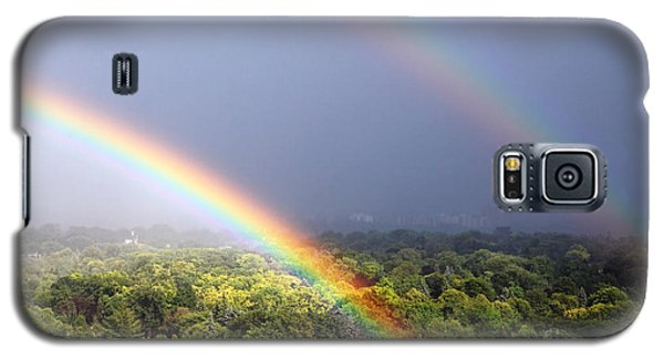 Double Rainbows Galaxy S5 Case by Charline Xia