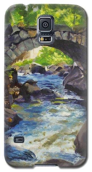 Double Stone Arch Bridge  Galaxy S5 Case