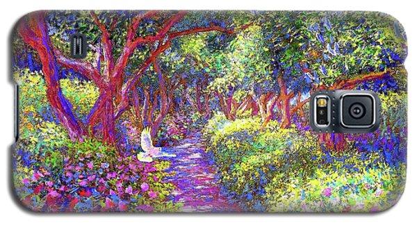 Dove And Healing Garden Galaxy S5 Case