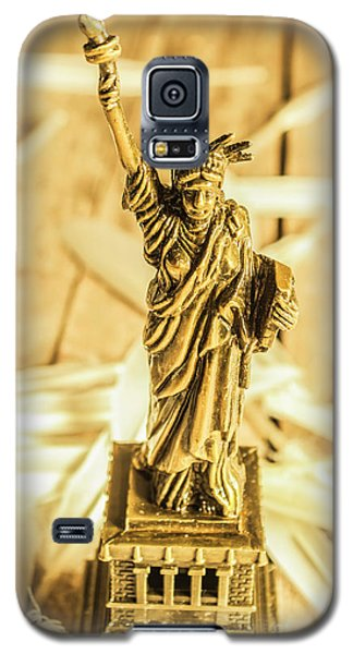 Dove Galaxy S5 Case - Dove Feathers And American Landmarks by Jorgo Photography - Wall Art Gallery