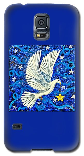 Dove With Star Galaxy S5 Case