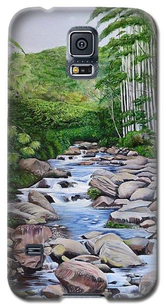 Down Stream  Galaxy S5 Case by Marilyn McNish