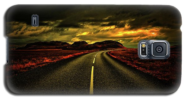 Galaxy S5 Case featuring the photograph Down The Road by Scott Mahon