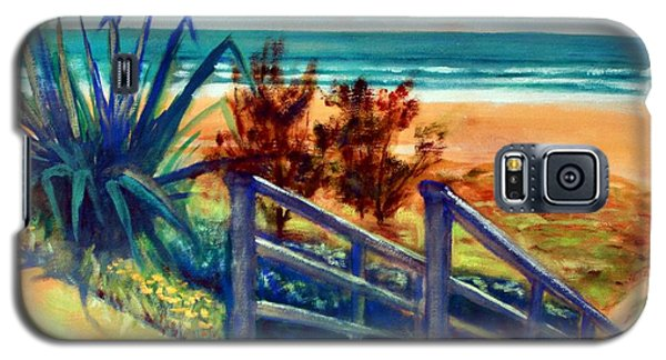 Down The Stairs To The Beach Galaxy S5 Case