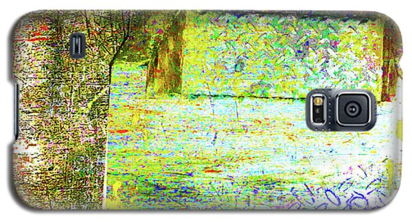 Galaxy S5 Case featuring the mixed media Down by Tony Rubino