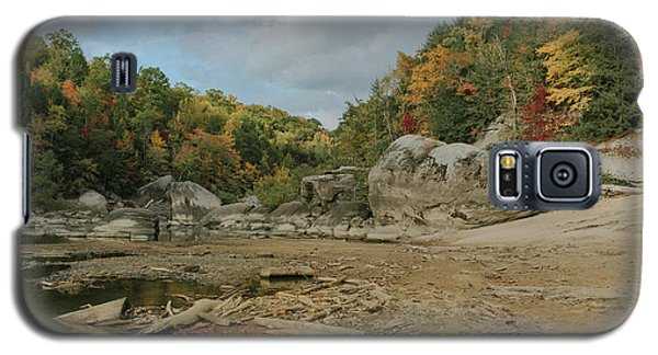 Downstream From Cumberland Falls Galaxy S5 Case
