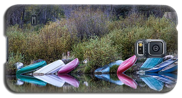 Downtime At Beaver Lake Galaxy S5 Case by Alana Thrower