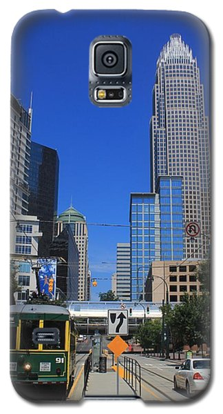 Downtown Charlotte Trolley 1  Galaxy S5 Case