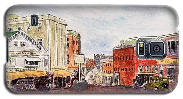 Downtown Amesbury Ma Circa 1920 Galaxy S5 Case
