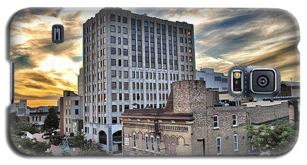 Downtown Appleton Skyline Galaxy S5 Case by Mark David Zahn