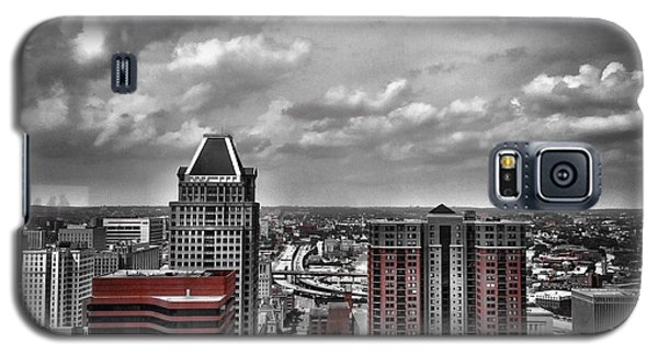 Downtown Baltimore City Galaxy S5 Case