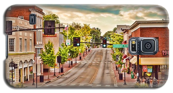 Downtown Blacksburg Galaxy S5 Case by Kerri Farley