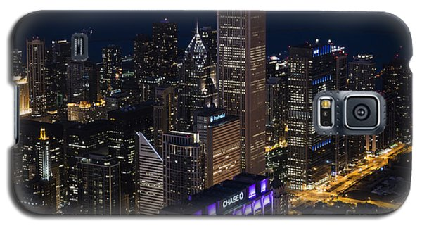 Downtown Chicago Galaxy S5 Case by Andrea Silies