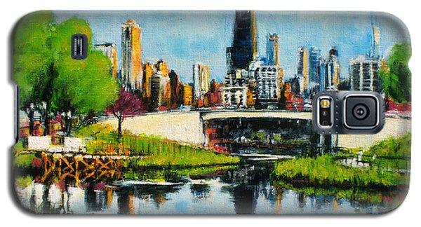 Downtown Chicago From Lincoln Park Galaxy S5 Case