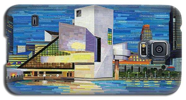 Downtown Cleveland Skyline  Galaxy S5 Case by Shawna Rowe