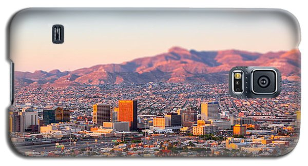 Downtown El Paso Sunrise Galaxy S5 Case