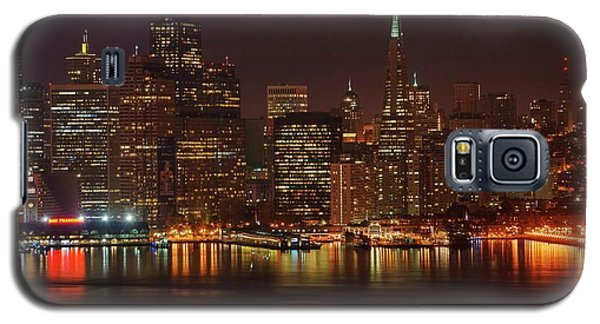 Galaxy S5 Case featuring the photograph Downtown Gotham City by Quality HDR Photography