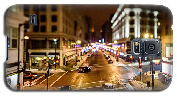 Downtown In The Itty-bitty City Galaxy S5 Case