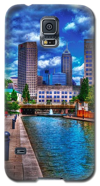 Downtown Indianapolis Canal Galaxy S5 Case