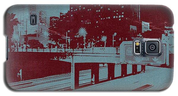 Town Galaxy S5 Case - Downtown La by Naxart Studio