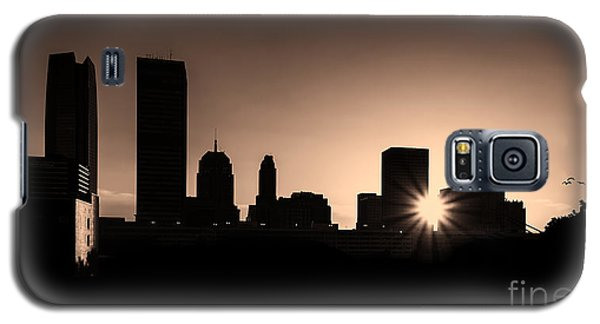 Galaxy S5 Case featuring the photograph Downtown Oklahoma City by Betty LaRue