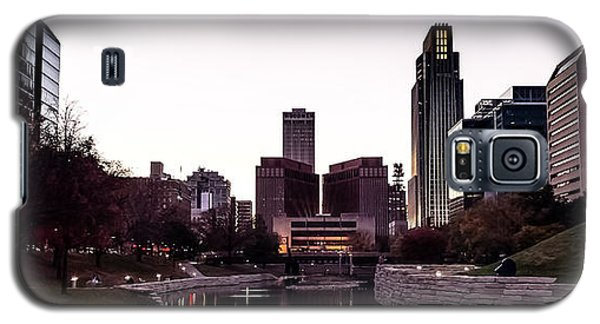 Downtown Omaha At Sunset Galaxy S5 Case