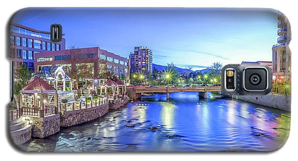 Downtown Reno Summer Twilight Galaxy S5 Case