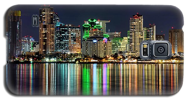 Galaxy S5 Case featuring the photograph Downtown San Diego by Eddie Yerkish