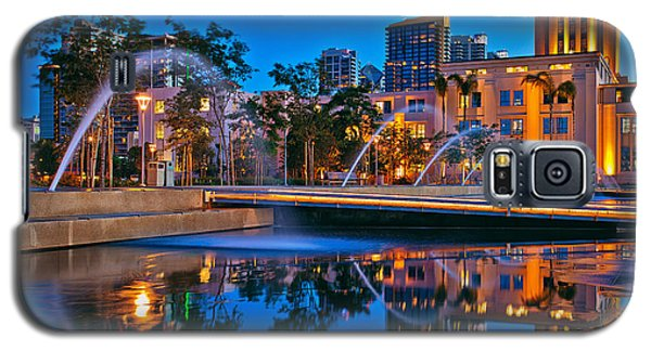 Downtown San Diego Waterfront Park Galaxy S5 Case