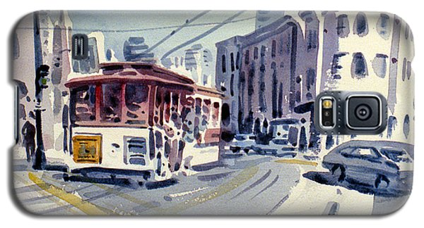 Downtown San Francisco Galaxy S5 Case by Donald Maier