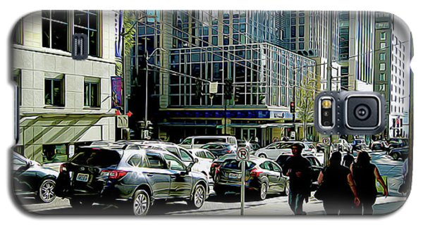 Downtown Seattle Galaxy S5 Case