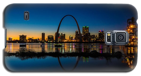 Downtown St. Louis And The Gateway Arch Galaxy S5 Case