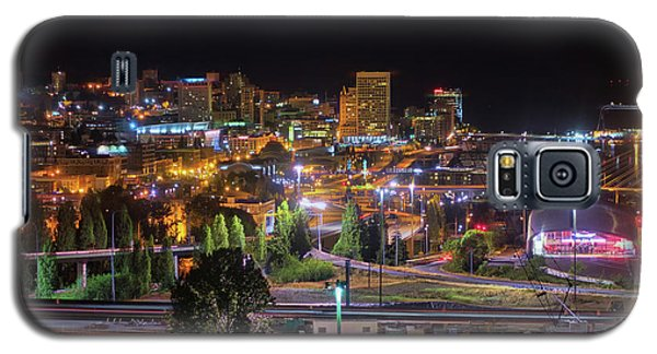 Downtown Tacoma Night Galaxy S5 Case