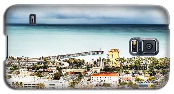 Downtown Ventura And Pier Galaxy S5 Case by Joe  Palermo