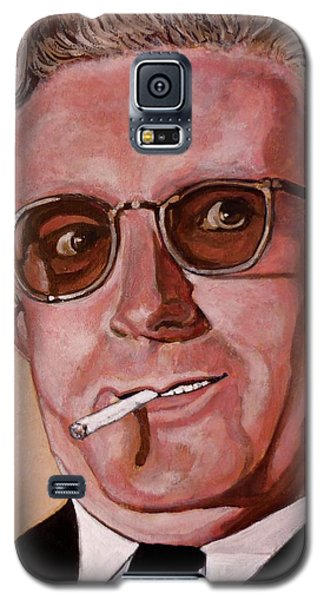 Galaxy S5 Case featuring the painting Dr Strangelove 2 by Tom Roderick