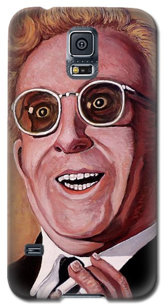 Galaxy S5 Case featuring the painting Dr. Strangelove 3 by Tom Roderick